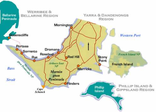 Mornington: A mysterious peninsula lacking water, a connection to a land-mass, and in need of an Editor...