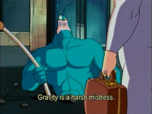 The Tick: Philosopher and Crime-fighter